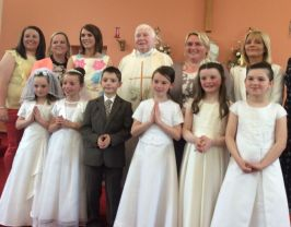 22nd May 2016- First Holy Communion.